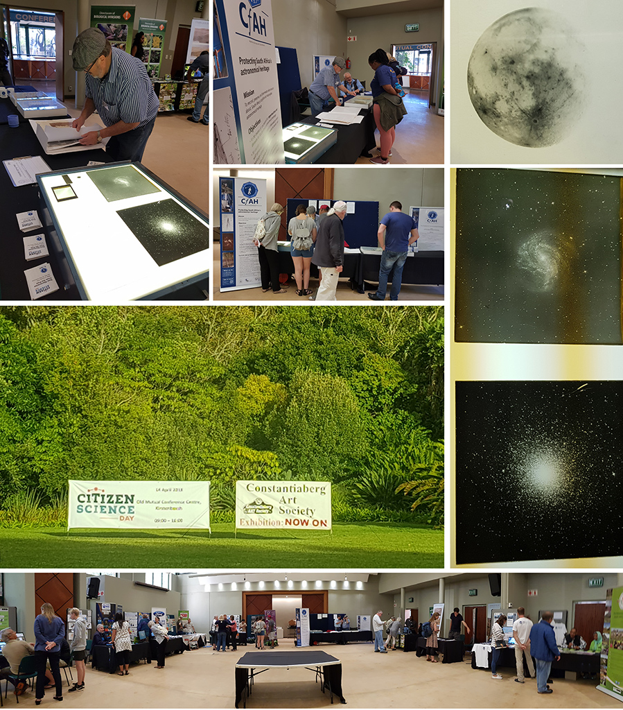 The Centre took part in Citizen Science day on 2018 April 14 at the Old Mutual Conference Centre at Kirstenbosch.